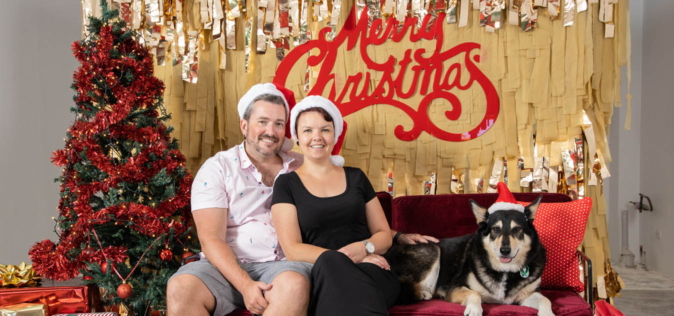 Christmas Pet Photos in Mt Lawley