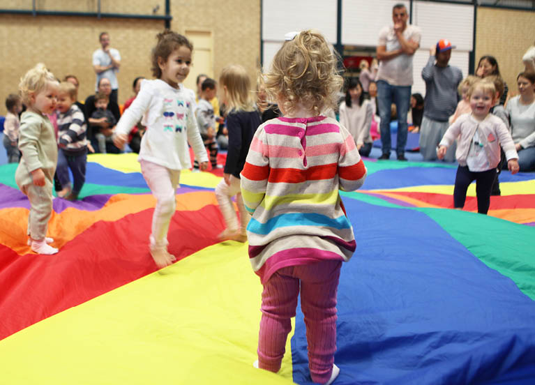 Toddler gym available at City of Stirling Leisure Centres