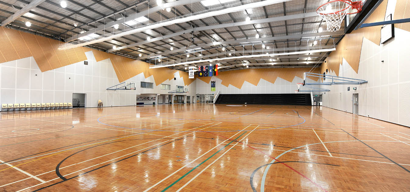 Major stadium at Stirling Leisure Centres - Herb Graham Recreation Centre - Mirrabooka