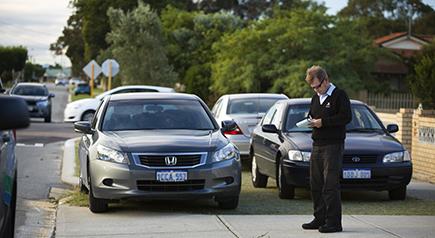 Parking infringements - City of Stirling