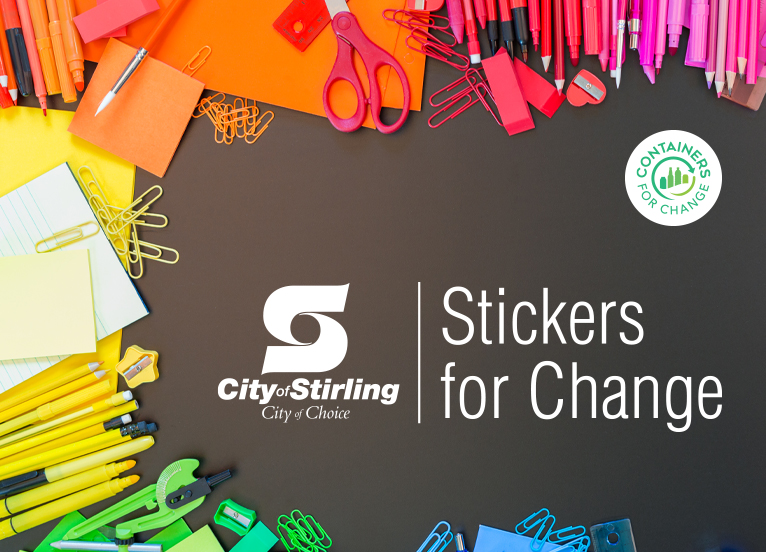 Stickers for change