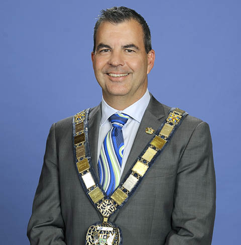 Mayor Mark Irwin