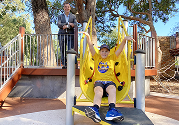 Playgrounds make a welcome return