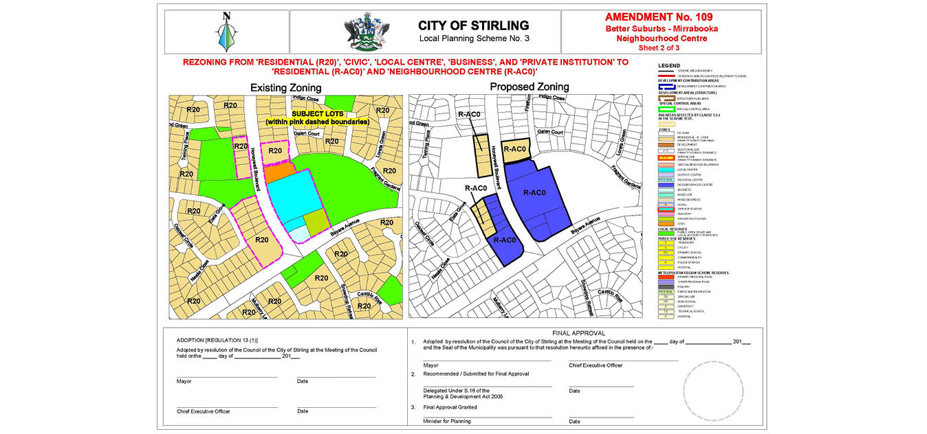 Better Suburbs - Mirrabooka Zoning Map